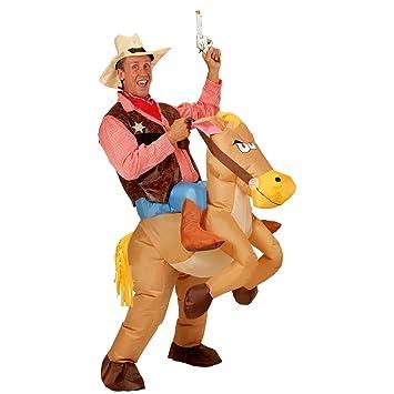 Traje Montando en Caballo   Disfraz Vaquero Hinchable ...