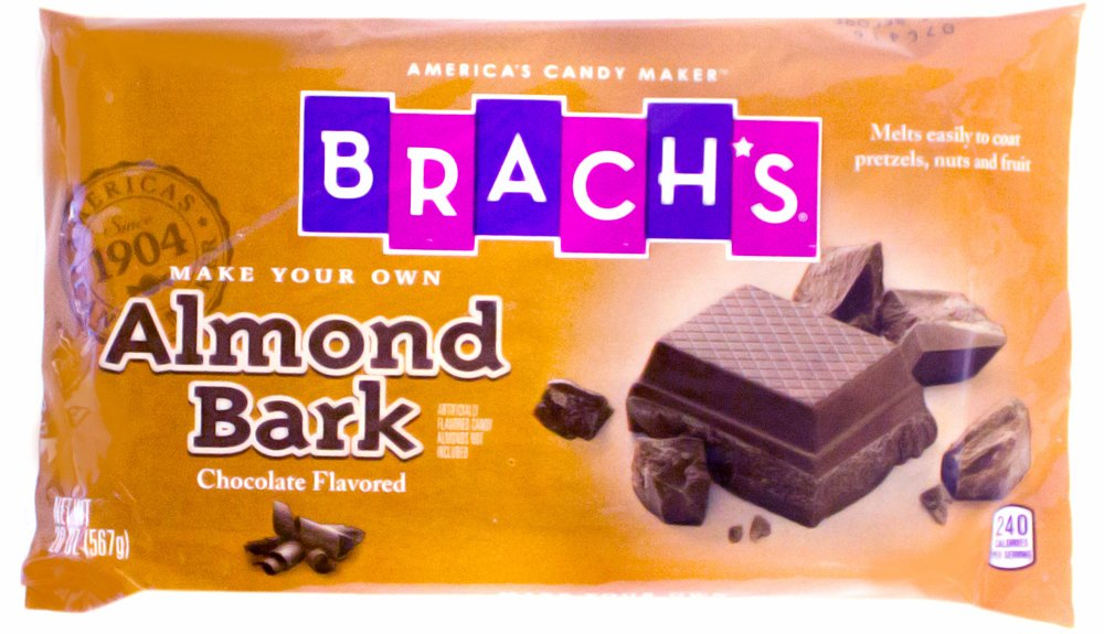 brach s melting chocolate almond bark slab 20oz