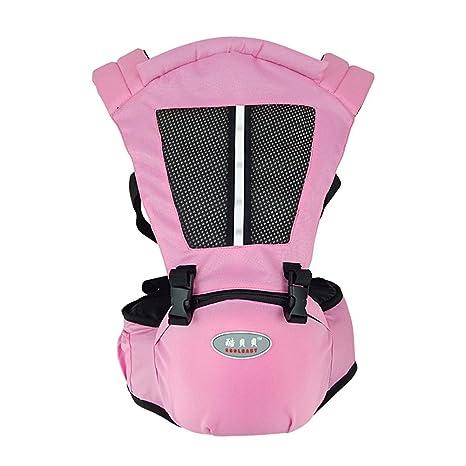 Blaward Mochila portabebés Ergonómico y Transpirable/Ligero cintura asiento bebé con Múltiples posiciones - llevar