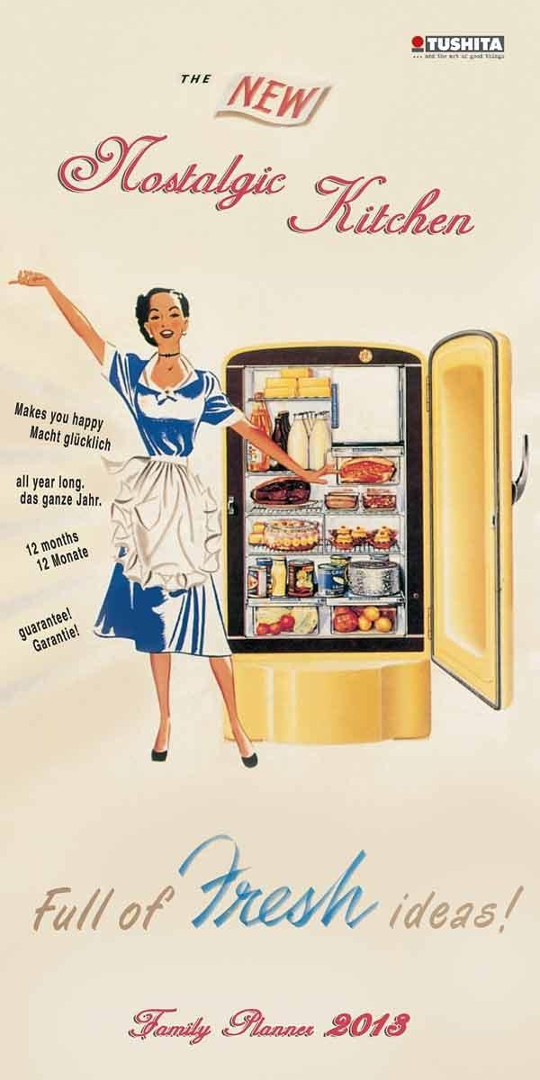 Nostalgic Kitchen Planner & Organizer 2013