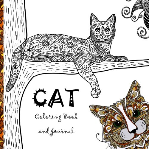 Amazon Cat Coloring Book A Calming And Creative Collection Of Cats Kittens