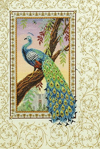 Anchor Renaissance Peacock Cross Stitch Kit