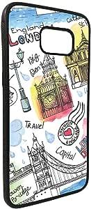 كفر جالكسي 7 ايدج بطبعة معالم لندن