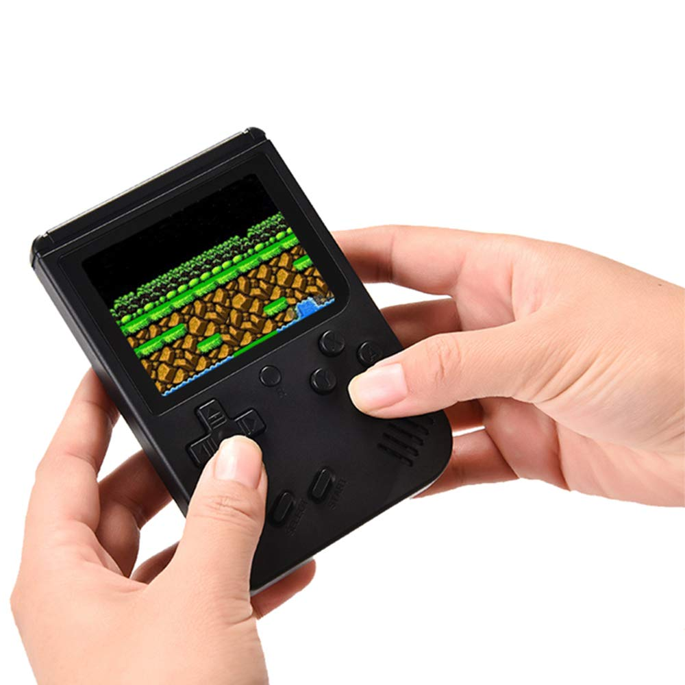MyArTool Retro FC Handheld Game Console, Built-in Up to 168 8bit Classic Games 3 Inch LCD Screen Portable Video Game Consoles Synchronize with TV and Support for Two Players by MyArTool (Image #5)