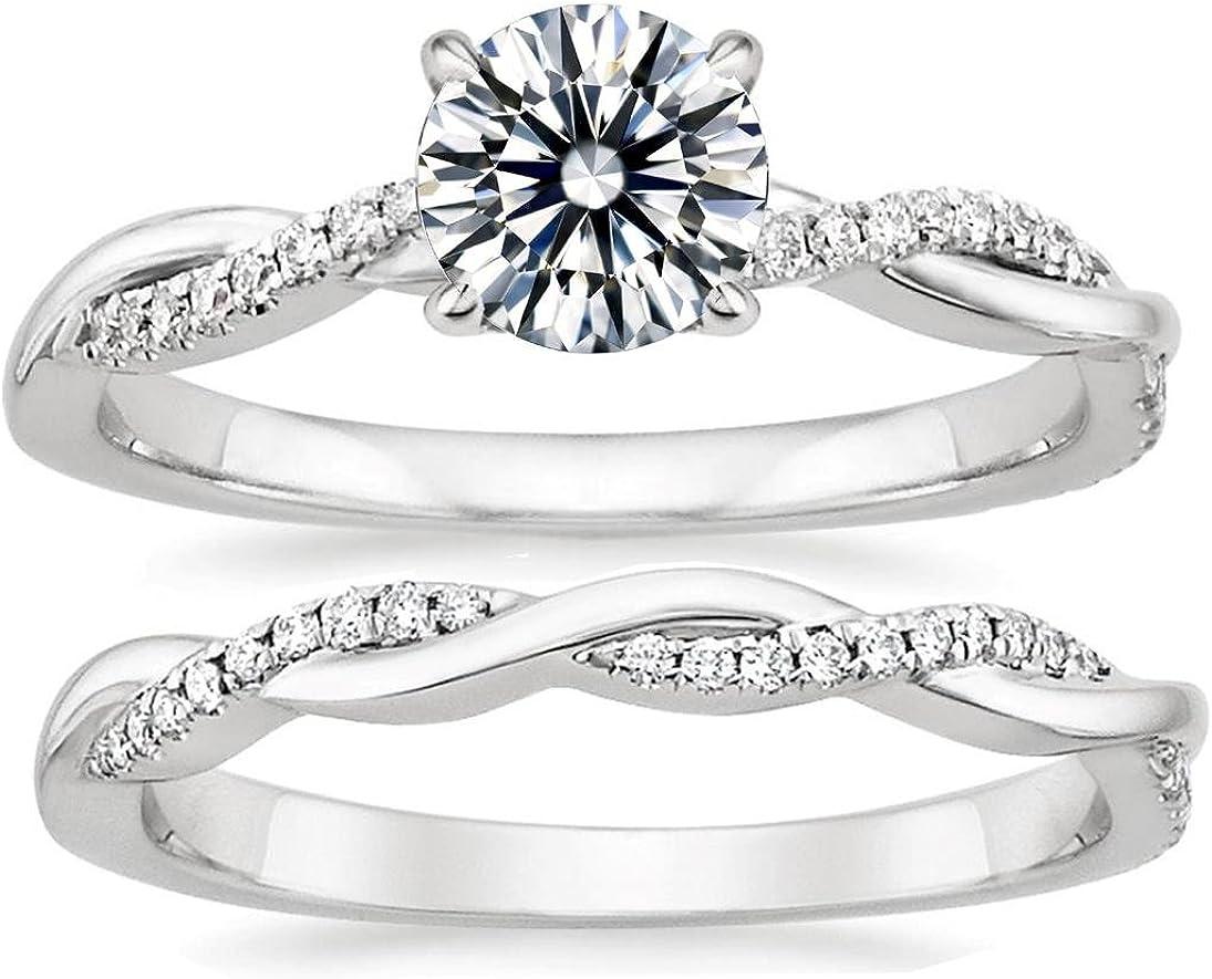 twisted vine wedding ring