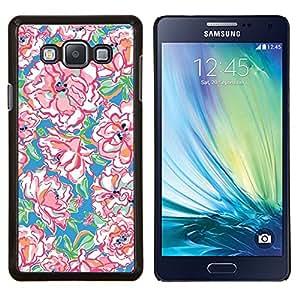 EJOOY---Cubierta de la caja de protección para la piel dura ** Samsung Galaxy A7 A7000 ** --Acuarela Patrón Primavera Arte