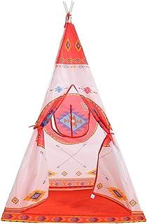 Cotangle Tente Enfant Style Ethnique Europe et Amérique Jouets Bébé Yurte Princesse Moustiquaire Maison de Jeu Maison
