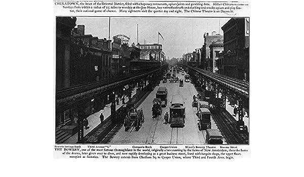 Foto: El Bowery, tercera Avenida l, Broome Street, ciudad de ...