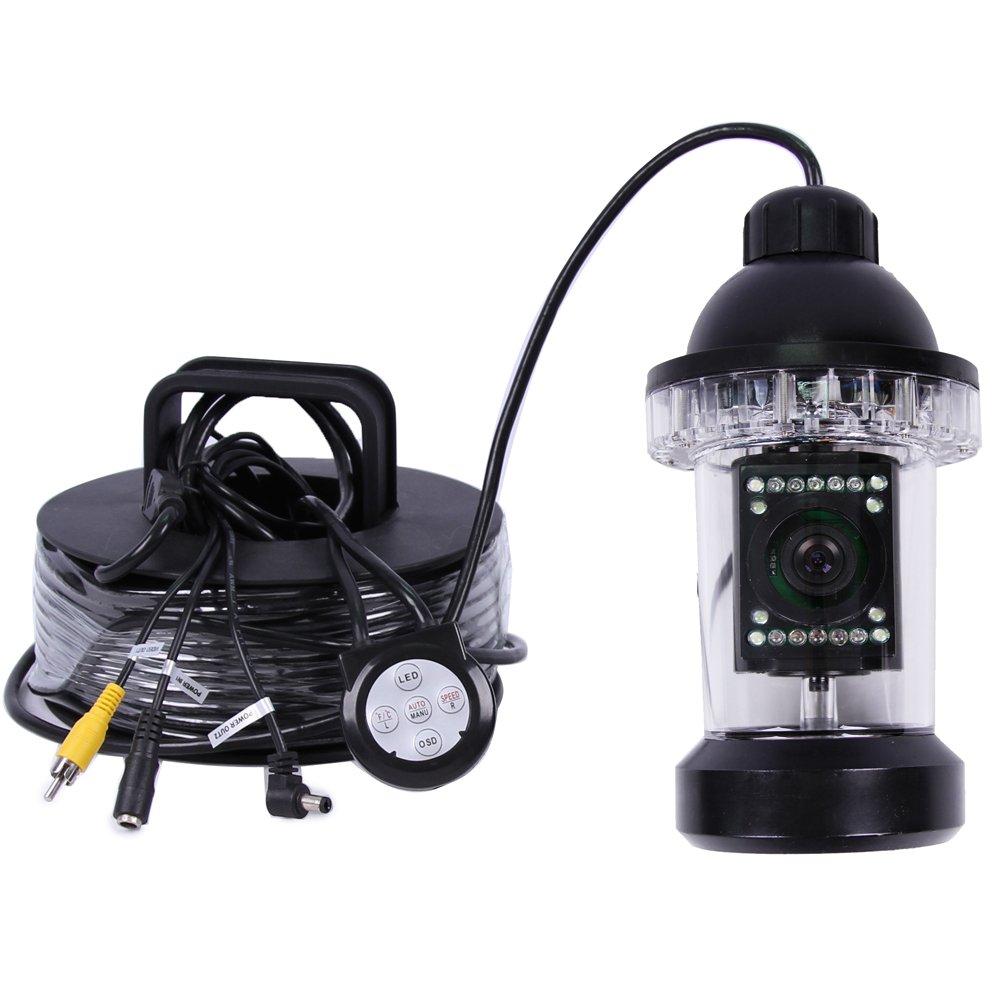 水中ビデオカメラ 魚群探知機 1000TVL SONY CCD カメラ 360度は回転します 魚群探知機 12個LED搭載 B01BVDDIG2 監視養殖 12個LED搭載、水中探査、海洋/氷/湖の釣り 50M ケーブル付き … B01BVDDIG2, E-WestClub:160e8a23 --- tandlakarematspetersson.se