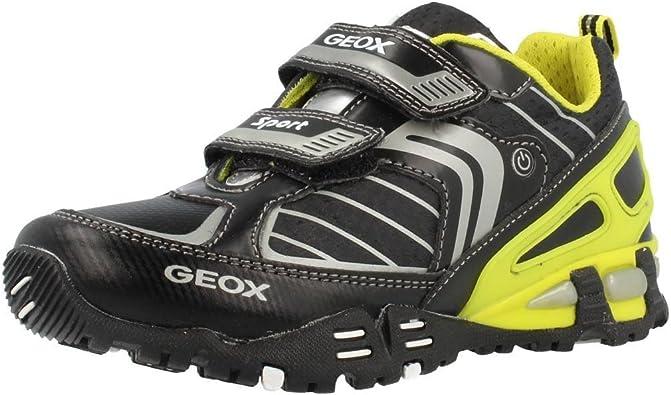 Geox Jr Light Eclipse B, Sneaker a Collo Basso Bambino
