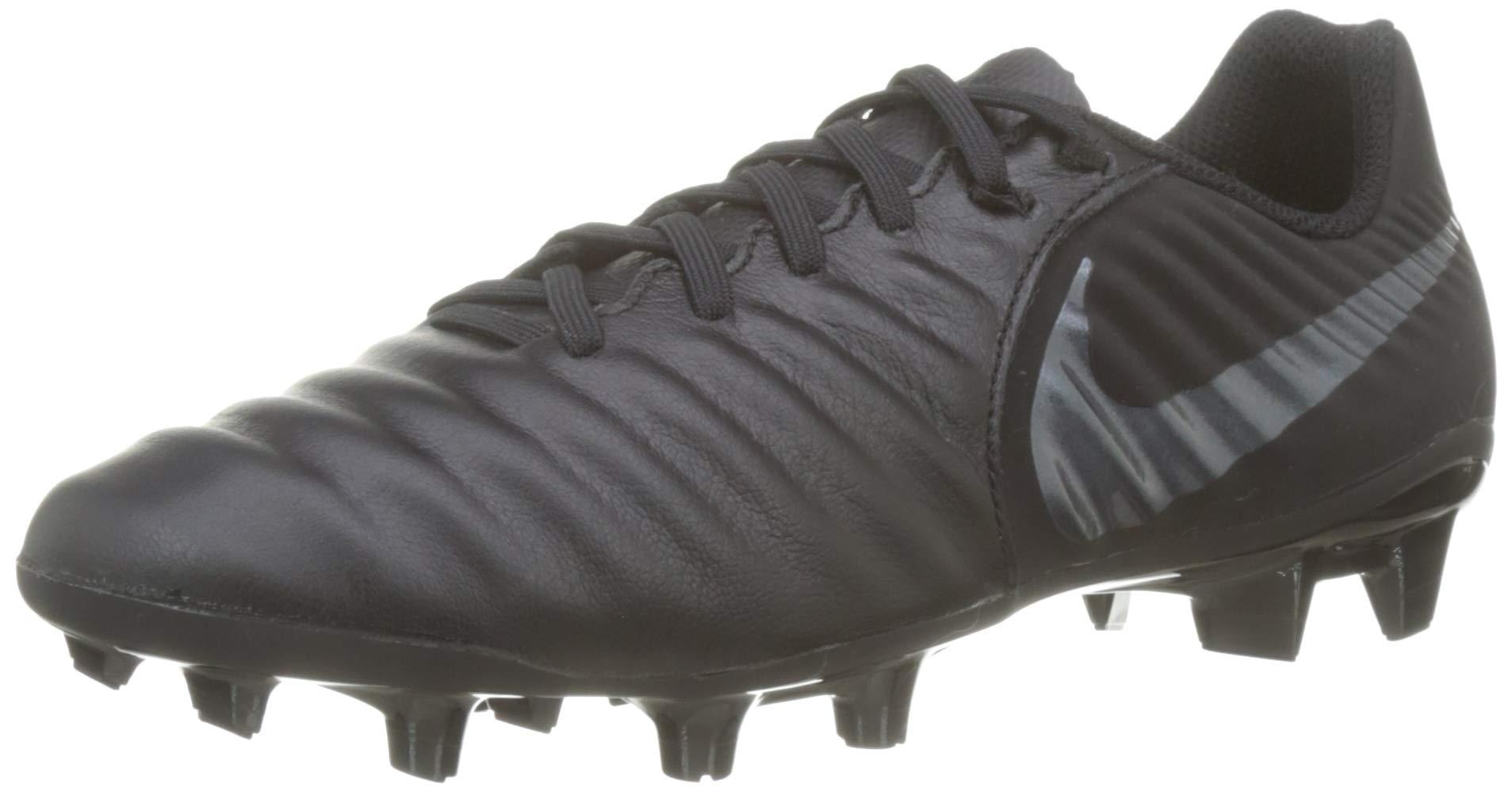 buy popular e641c 7c2aa Nike Tiempo Legend 7 Academy FG Soccer Cleat (Black) (Men's 10.5/Women's 12)