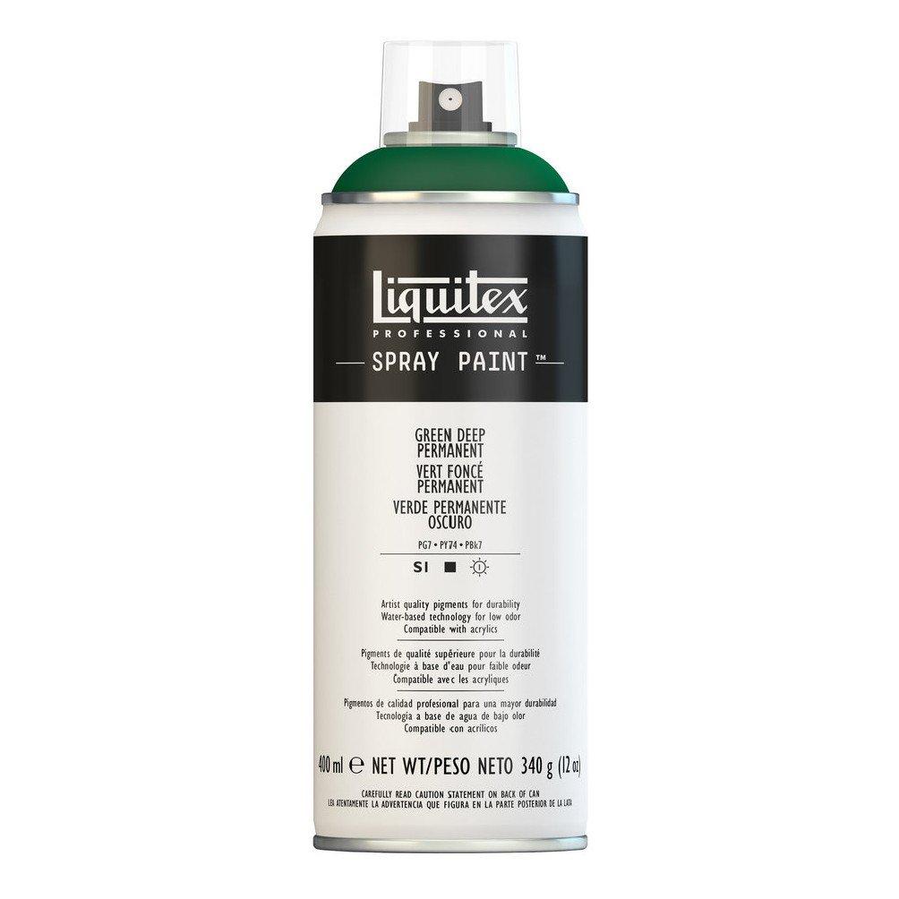 Liquitex プロフェッショナル スプレーペイント 12オンス 13.5 oz グリーン 4450350 B008LUIV1Q Green Deep Permanent Green Deep Permanent