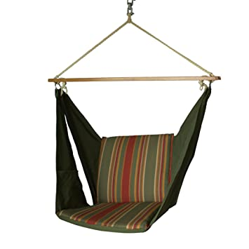 Slack Jack Butterfly Fabric Swing (Green, Brown, Yellow and Red)
