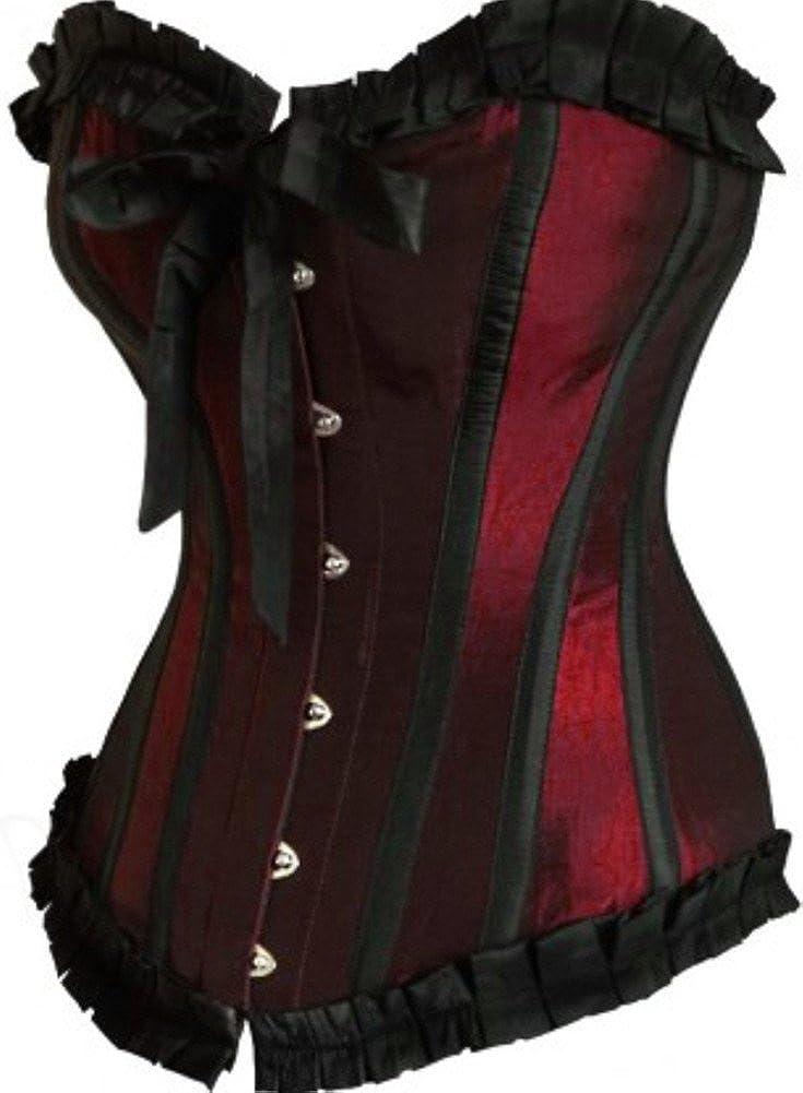 Anvoro Women's Vintage Bowknot Waist Training Corset JSY-2699