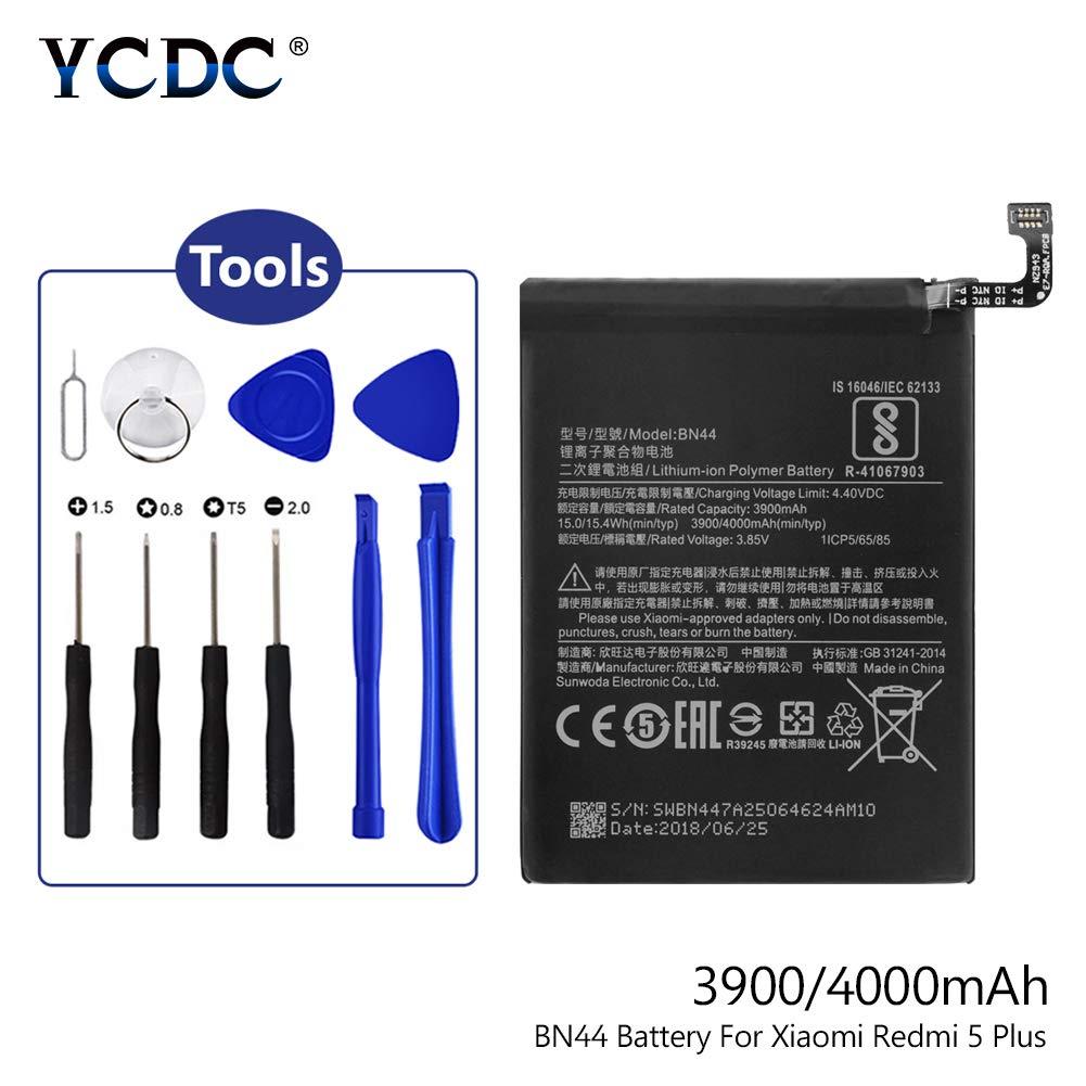 Amazon.com: Batería YCDC BN44 para Xiaomi Redmi Note 5 Redmi ...