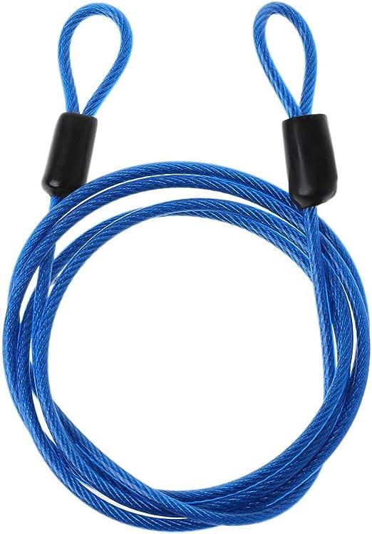 JERKKY Cerradura de Bicicleta Cable de Alambre de Acero 1 m ...