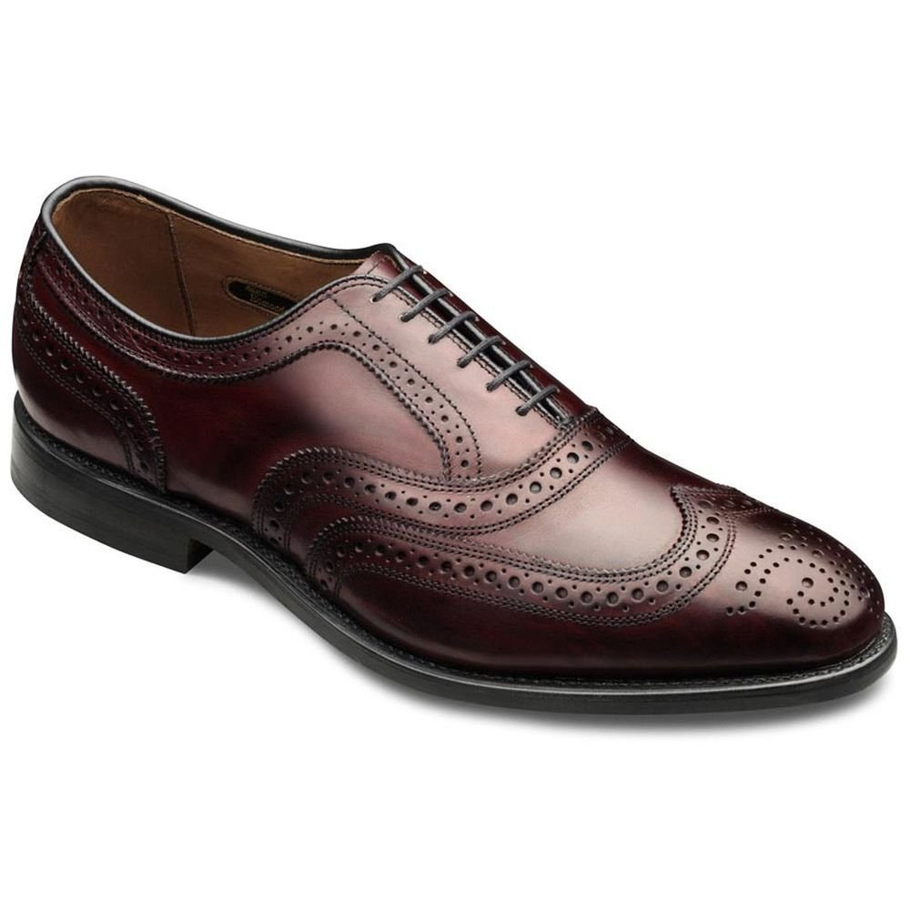 Allen Edmonds Men's McAllister Wing Tip,Merlot,11.5 B US