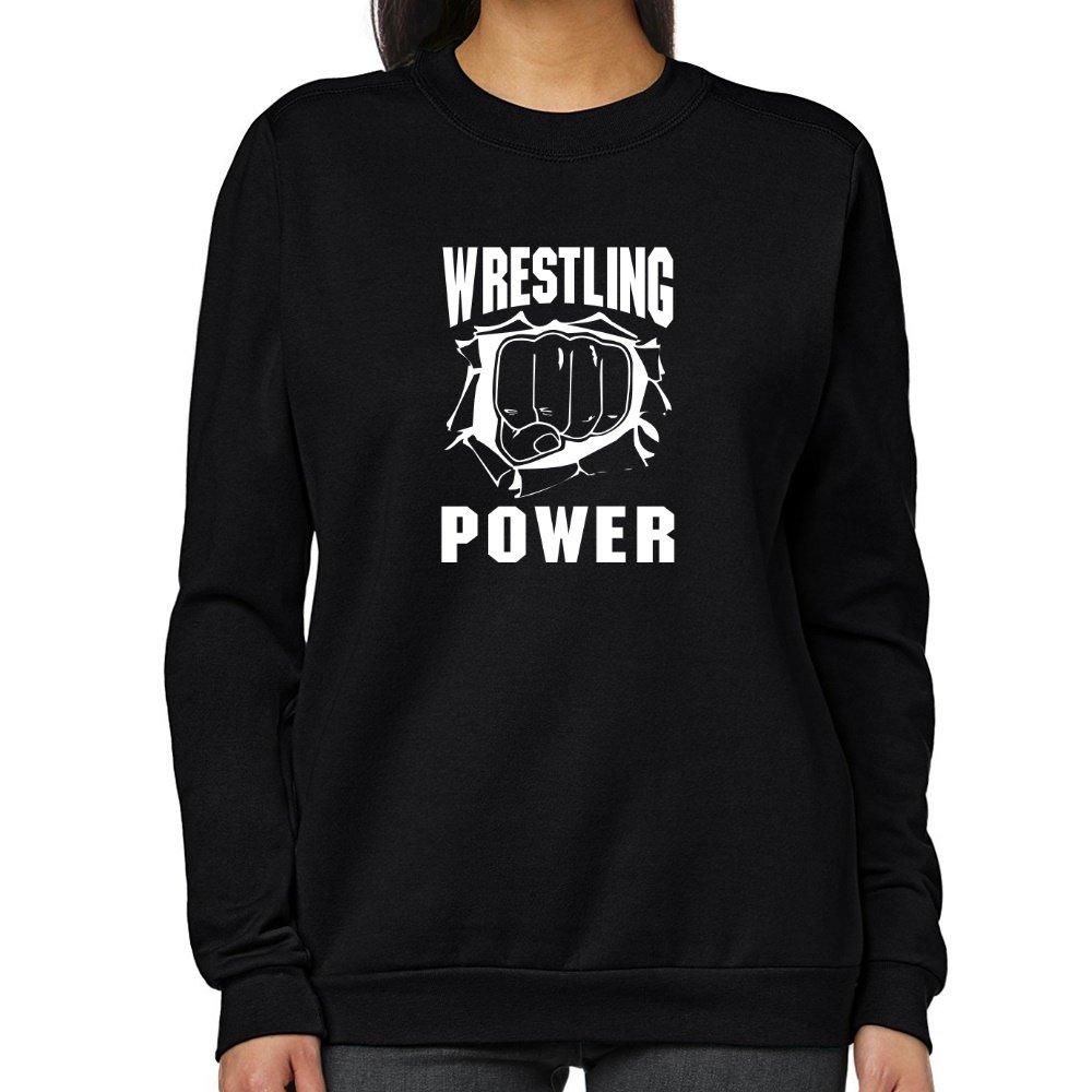 Teeburon Wrestling POWER Women Sweatshirt by Teeburon
