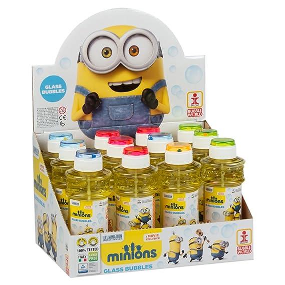 ColorBaby - Caja pomperos Minions con 12 Unidades de 300 ml (24603): Amazon.es: Juguetes y juegos