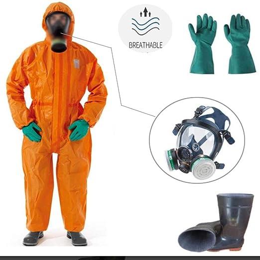 Traje De Protección Química Ropa De Protección Química Pesada ...