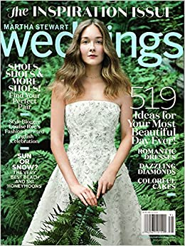 Martha Stewart Weddings Magazine Winter Inspiration Issue