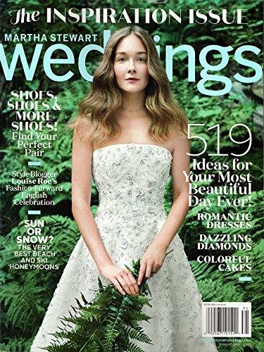 Martha Stewart Weddings Magazine Winter 2017 | Inspiration Issue