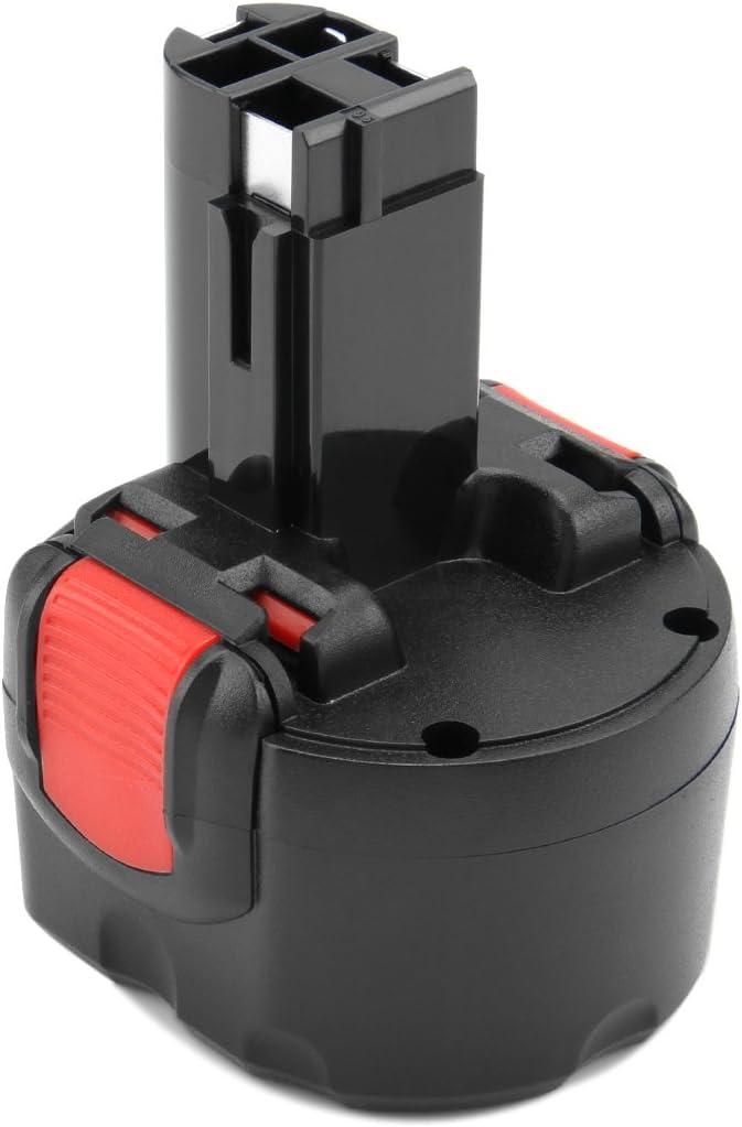 Creabest 9.6V 3.0Ah Batería para Bosch BAT048 BAT100 BAT119 2607335272 2607335461 GSR9.6 GSR 9.6VE-2 PSR 9.6VE-2 PSR960 23609 32609-RT