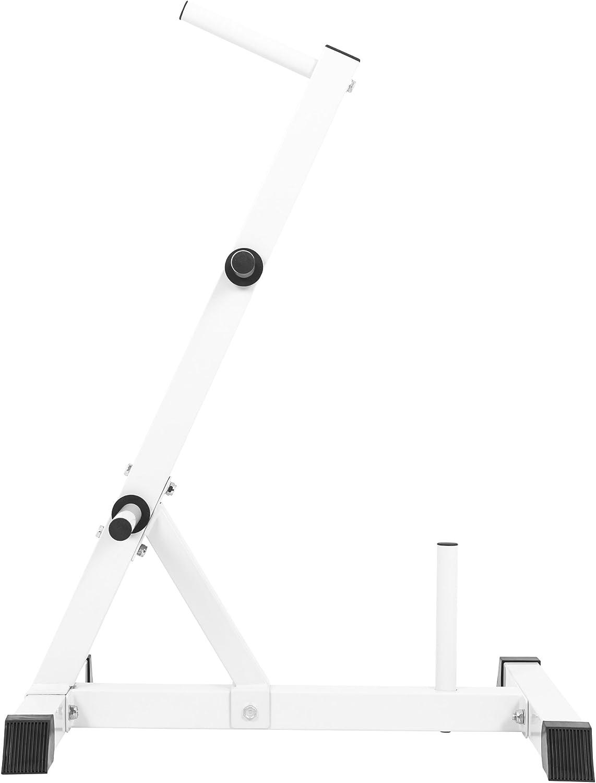 Gorilla Sports Rack de Rangement pour Poids disques Noir ou Blanc