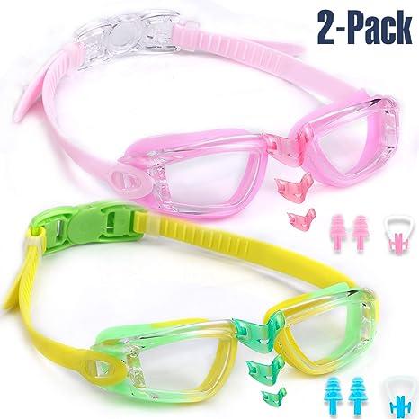 6e2c5aecdc80 noorlee Kids Swim Goggles