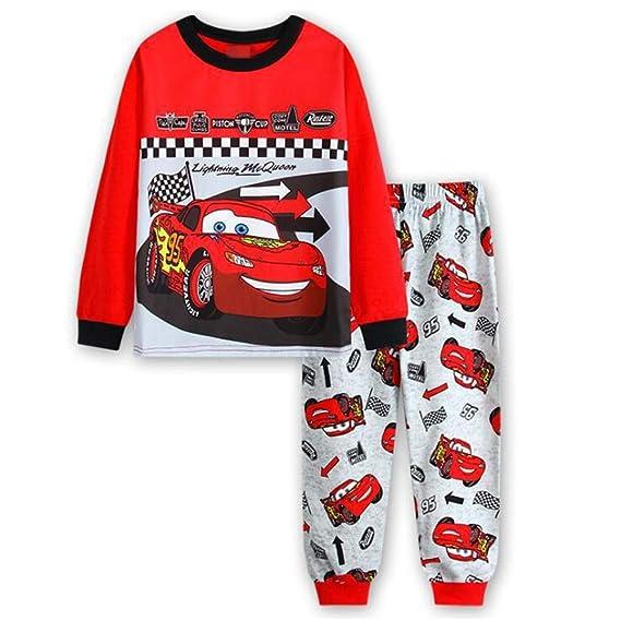 7e0f5d4a49272 CDREAM Pyjamas D'Enfants Pour Les Garçons Pyjama Ensemble 95% Coton Pyjama  Vêtements De Nuit T-Shirt Pantalon Garçons Manches Longues Tenue Enfants  Pyjama ...