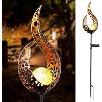 OurLeeme Luz Solar de jardín, lámpara Decorativa