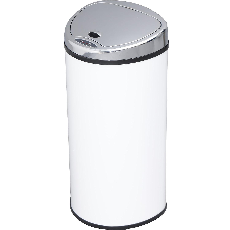 アイリスプラザ ゴミ箱 自動 開閉 センサー付 68L ホワイト B01IQVK0WC 68L|ホワイト ホワイト 68L