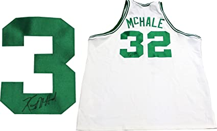31fd5f3930c4 Kevin McHale Autographed Boston Celtics Authentic Mitchell   Ness Jersey