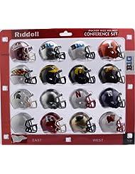 Riddell Pocket Pro Speed Helmet Big Ten 10 Conference (16 Helmets) - Set includes: Indiana, Illinois, Maryland, Michigan, Iowa, Minnesota, Michigan State, Ohio State, Nebraska, Northwestern - 2018 Set