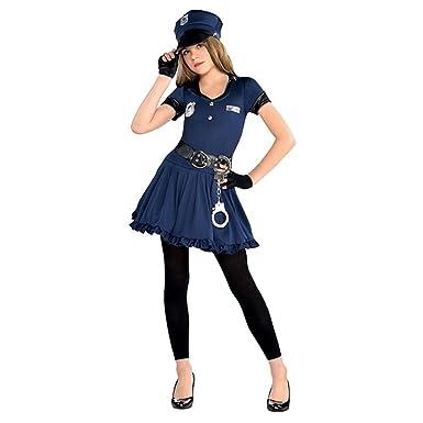8-10 Years Police Officer Costume Teen Girls Cop Cutie Book Week Fancy Dress Party  sc 1 st  Amazon UK & Police Officer Costume Teen Girls Cop Cutie Book Week Fancy Dress ...