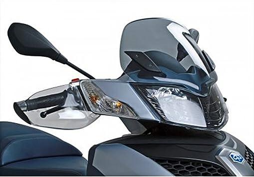 Hand Protectors Transparent For Piaggio Mp3 Yourban 125 300 4t Lc Auto