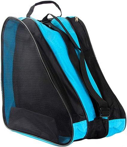 Unisex Oxford Cloth Ski Boot Carrying Case Ice Skates Bag with Shoulder Strap for Kids Adults Roller Skate Carry Bag