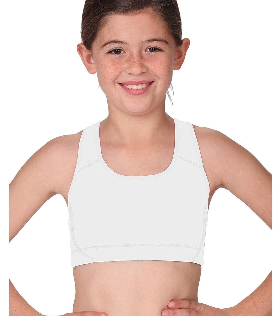MJ Soffe Big Girls Sports Bra