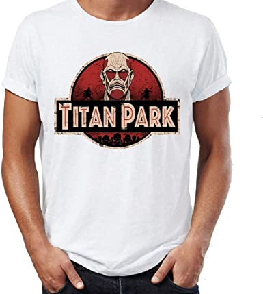 FLAMENCO_STORE Summer Men T-Shirt Attack On Titan Shifter Eren Levi Mikasa Anime Tshirt: Amazon.es: Ropa y accesorios