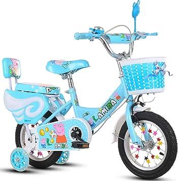 Bickd Bebé Femenino en Bicicleta Grande para niños, niño y niña ...