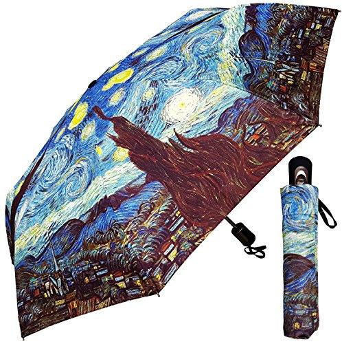 Umbrella - Fine Art Design: Starry Night by Van Gogh - 42
