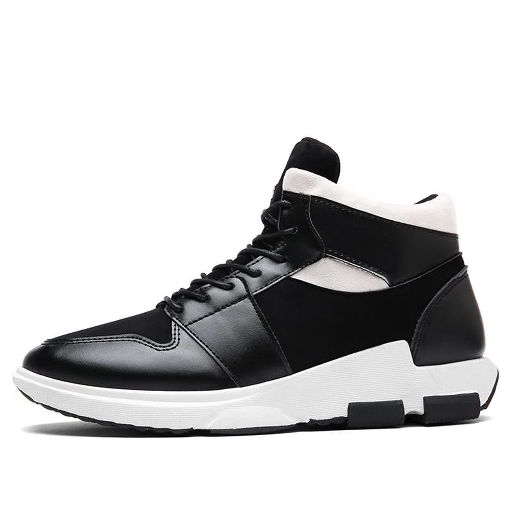Ying xinguang Outdoor Herrenmode Sneaker Flache Ferse Lace up Outdoor xinguang Trend Schuhe Schwarz 9f51b0