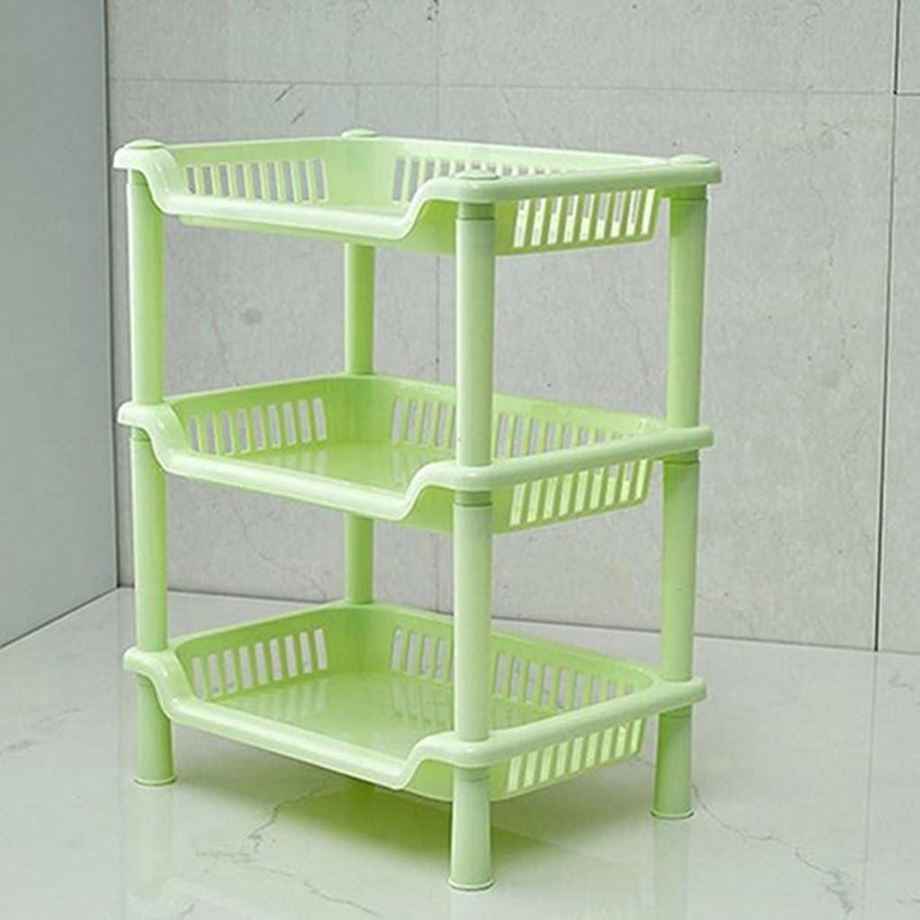 Gemini _ Mall® 17 Etagen Verstellbarer Ablage Kunststoff Badezimmer  Organizer Eckregal Dusche Caddy Halter rostbeständig grün