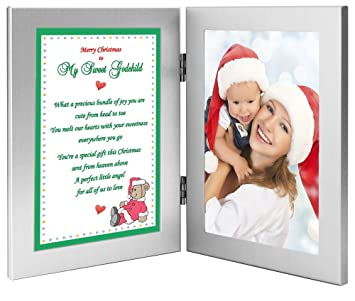 christmas gift for godchild from godmother or godfather sweet poem add photo