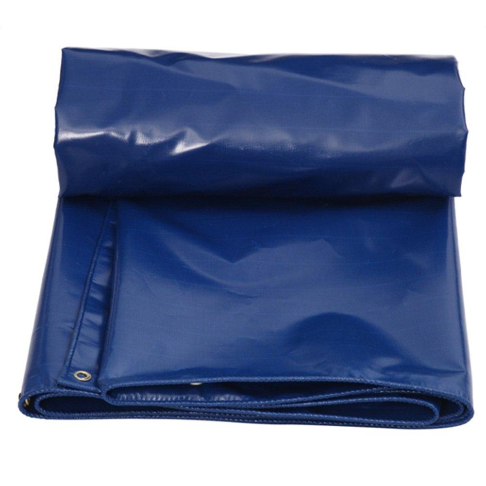 LIXIONG オーニング 仮テント 屋外 防雨布 日焼け止め 通気性のある 断熱 トラック 、550G / m2 、0.45mm 、12サイズ (色 : 濃紺, サイズ さいず : 2.8x3.8m) B07FYN7V4F 2.8x3.8m|濃紺 濃紺 2.8x3.8m