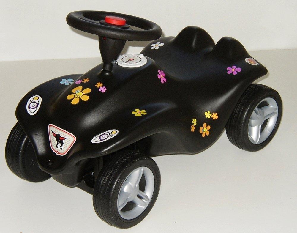 BIG New Bobby Car schwarz Flower