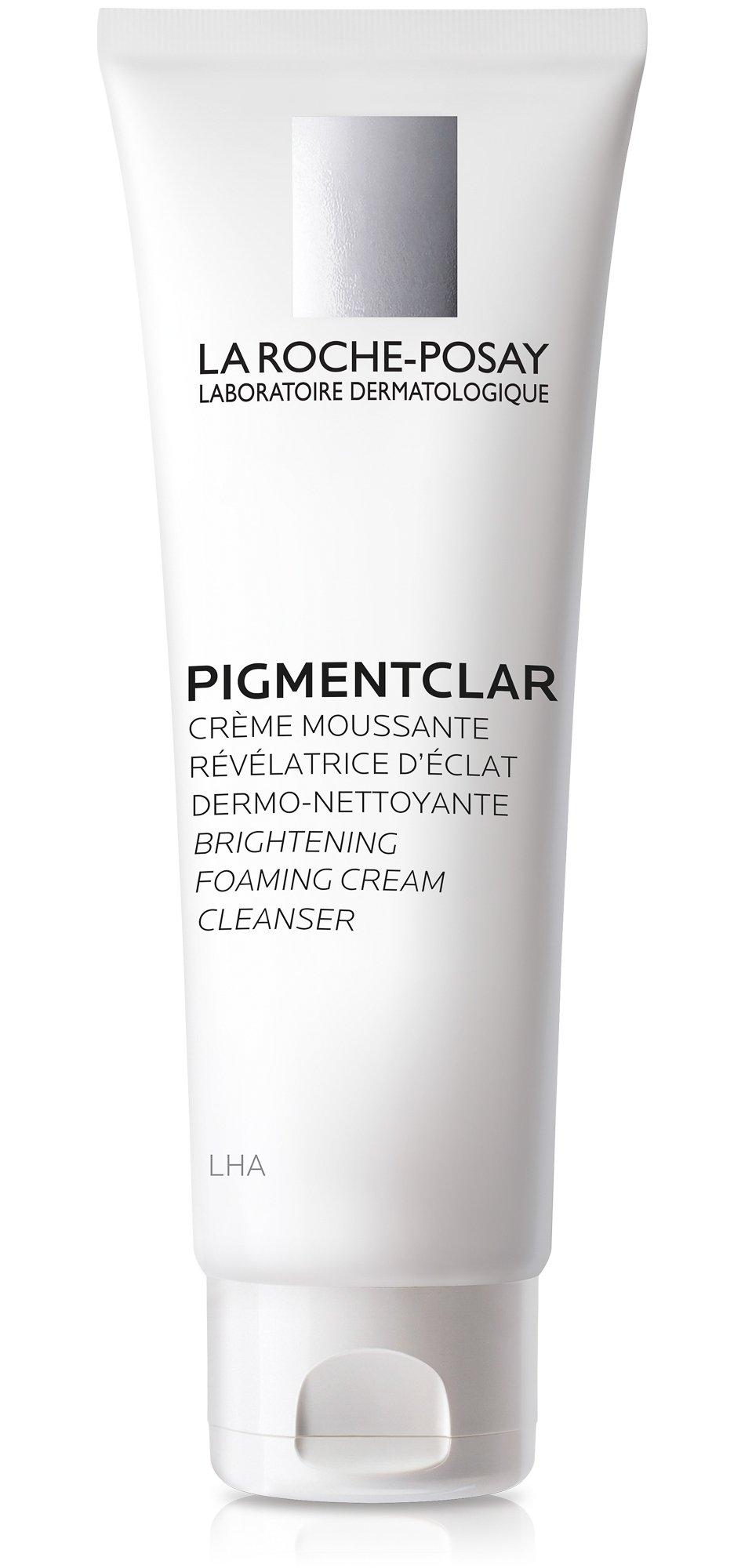 La Roche-Posay Pigmentclar Brightening Foaming Cream Cleanser, 4.2 Fl. Oz.