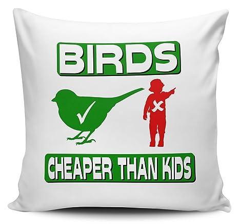 Funda para cojín de pájaros son más barato than My Kids ...