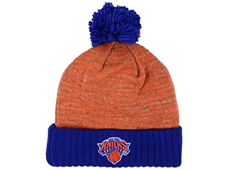 online retailer 9d44a a01d3 ... where to buy mitchell ness new york knicks cuff knit beanie w pom one  size fits