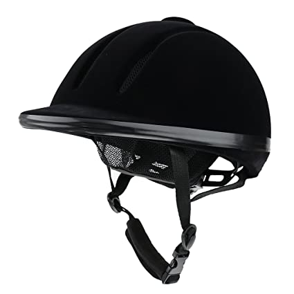 2a67307b2f8 Generic Breathable Equestrian Helmet Safety Horse Riding Hat Black S-XL - S